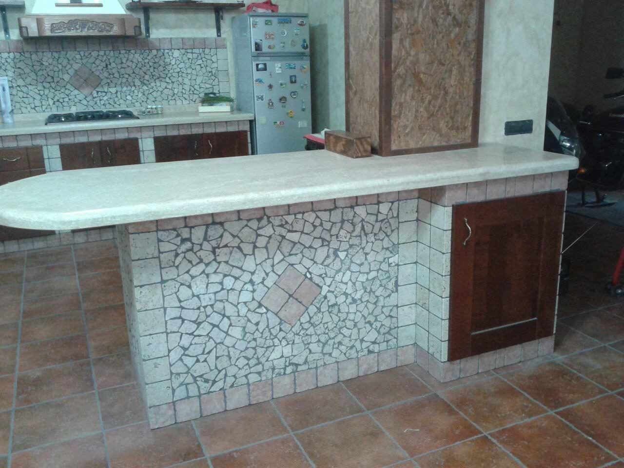 Cucina in muratura costi awesome piastrelle per cucina in muratura with cucina in muratura - Costo cucine in muratura ...