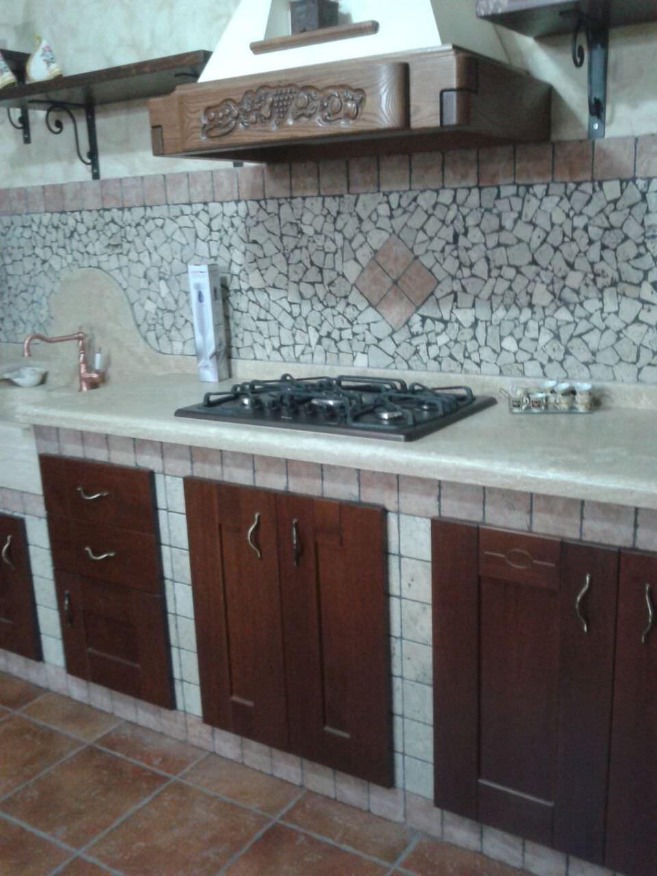 Alluminia di Olim: cucine in muratura a Roma e provincia