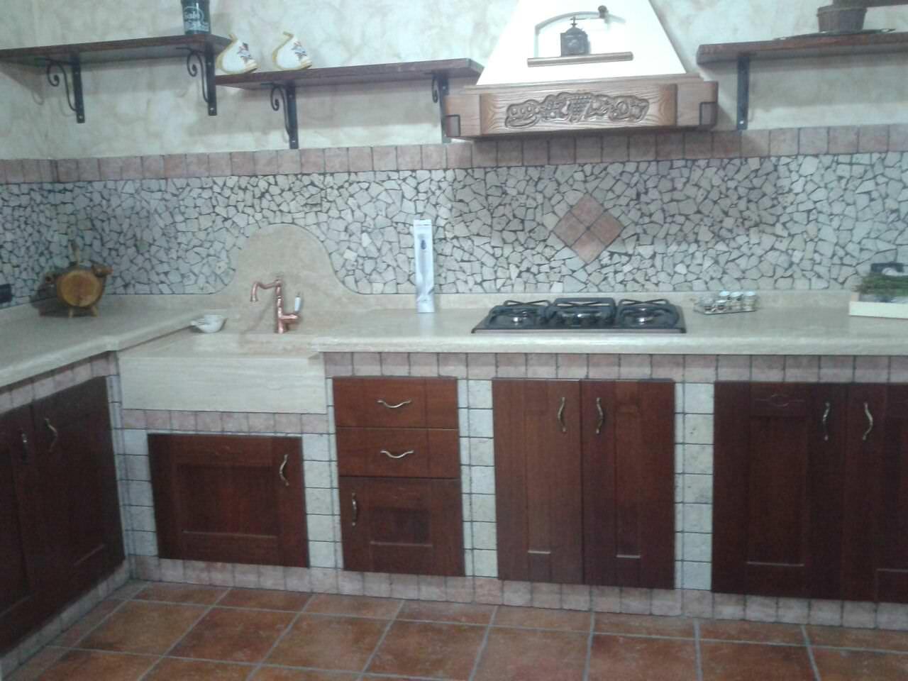 Alluminia di olim cucine in muratura a roma e provincia - Cucina in muratura ikea ...